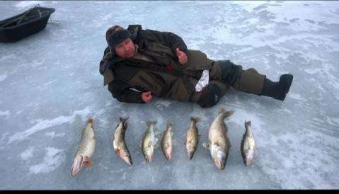 Рыбалка на реки Вазуза в Смоленской области