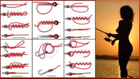 Как вязать узлы на крючок.