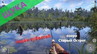 Русская рыбалка 4 - озеро Старый Острог - Садок щук на один воблер