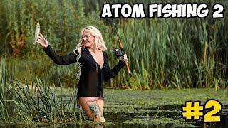 Atom Fishing 2 прохождение #2 ► РАЗВИТИЕ, РЫБА ОТ 100 ГРАММ